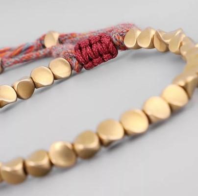 Ægte tibetansk kobber armbånd