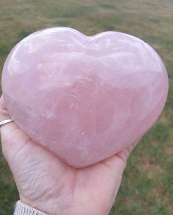 Rosakvarts hjerte
