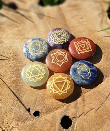 Chakra krystaller