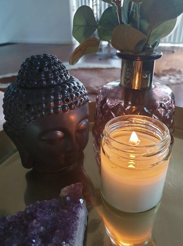 Soya lys uden duft