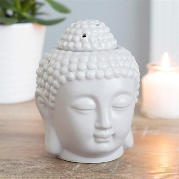 Buddha soyavoks statue med budda