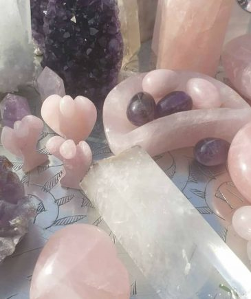 Blandet krystaller