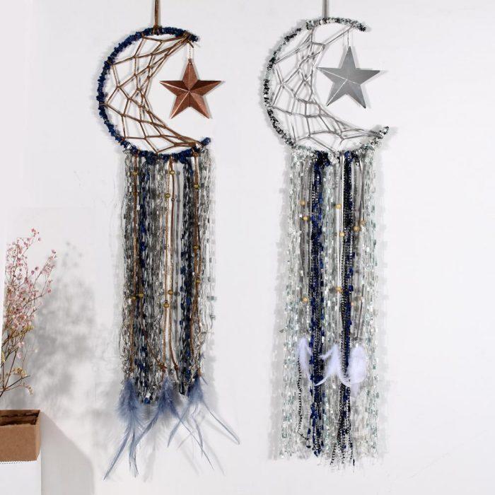 Drømmefanger med sølv eller kobber