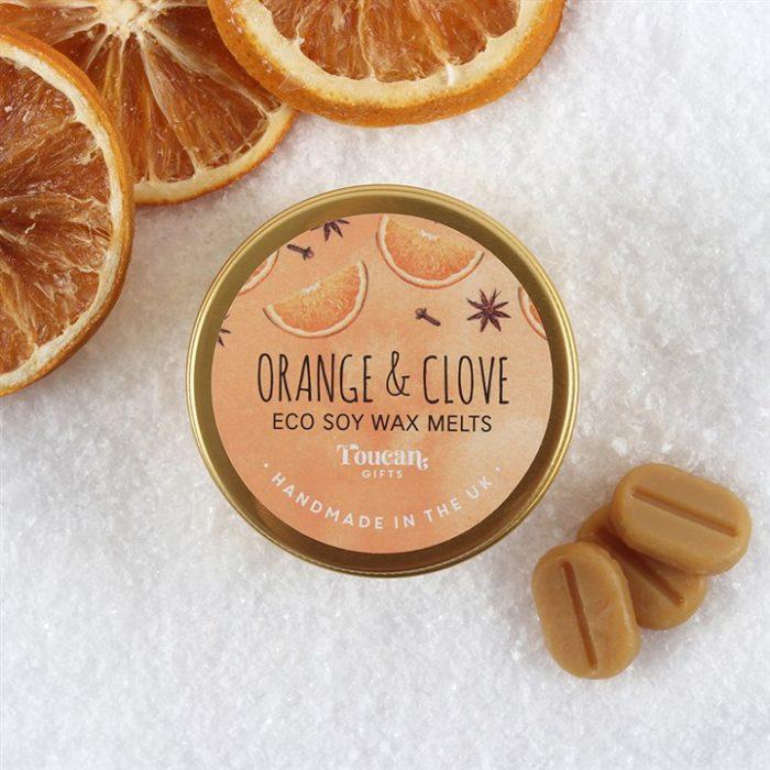 Orange & Clove eco soyavoks