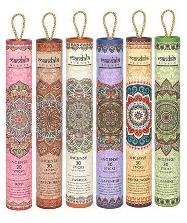 Mandala røgelsespinde