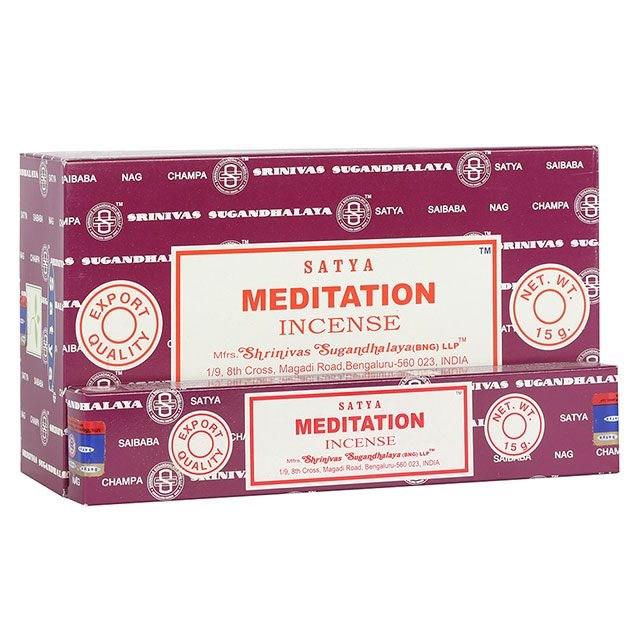 Satya Meditation røgelse.