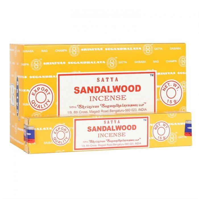 Satya sandalwood røgelsepinde