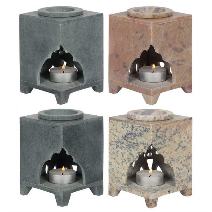 fedtsten aromalampe 1 pilos