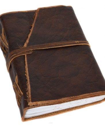 dagbog i bøffellæder