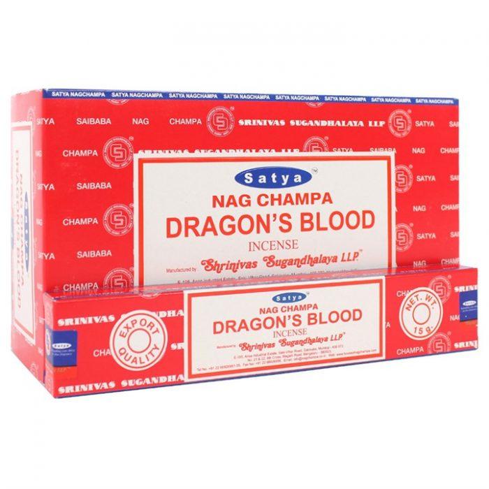 Satya Dragons Blood røgelsespinde